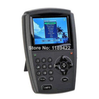 "handheld Digital Yes Wholesale High Quality 3.5"" TFT LCD Handheld Digital Satellite Signal Finder Meter Direc TV Dish FTA LNB Sat Free Shipping"