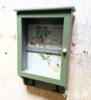 Wholesale New American pastoral countryside nostalgic key box ornaments Mural