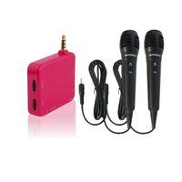 Wholesale Red Karaoke Mixer Singing Home Outdoor Car for Smart Phones Tablet ipad