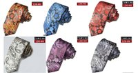 Wholesale Assorted Mens Ties Neckties Silk Fashion Classic Handmade Wedding High Quality Paisley Stripes Plaids Dots Tie