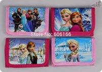 Wholesale NEW HOT FROZEN Coin Purses Mini Wallets Mix Elsa Anna Cartoon Character Girls Children Kid Gift Fashion