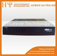 Wholesale 1PC AZBOX ULTRA HD cccamd newcamd iptv youtube weather better than tocomfree s929 and azamerica s1001