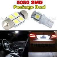 acura tsx led - 6pcs Led mm DE3175 T10 W5W Light Bulb For Dome Map Licence Plate Light Package Kit For Acura TSX ZDX RSX Integra TL White