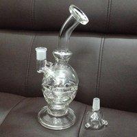 Faberge verre mothership Prix-Image réelle de 100% de quartz verre Honeycomb 9 pouces