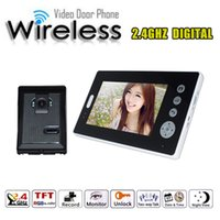 wireless door camera - Wireless quot Video Door Phone Intercom Doorbell Home Security Ir Camera Monitor