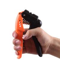 Wholesale 32kg Anti slip Adjustable Gripper Hand Grip Fitness Exerciser Wrist Forearm Muscle Strength Training