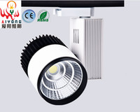 Wholesale W20W30w COB track light LED track light clothing exhibition hall the LED to shoot the light with the window