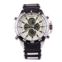Wholesale New Arrival BESNEW BN Multi Function Men s Sports Electronic Quartz Wrist Watch White Black
