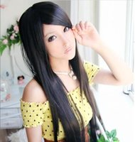 Wholesale Hotsale Women Cute Sexy Colors Lace Front Long Straight Synthetic Wigs