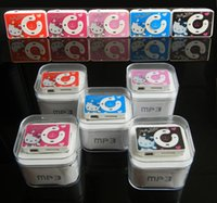 Wholesale Mini Clip MP3 Player Without Screen Support Micro SD TF Card GB Sport MP3 Cheap Style MP3 MP4 Players With Retail Boxes