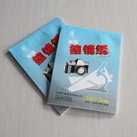 Cheap Hot Soft Camera Lens Optics Tissue Cleaning Clean Paper Wipes Booklet For Canon Sony Nikon 5X 50 Sheets