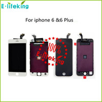 Wholesale Original LCD Display Touch Digitizer Complete Screen with Frame Full Assembly Replacement for iPhone iphone Plus Free DHL FEDEX shipping