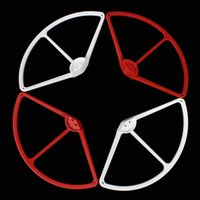 Wholesale 4Pcs set Propeller Prop Protective Guard Bumper Protector for DJI Phantom Vision Quadcopter Red White AFD_D30