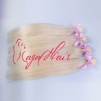 Cheap Virgin brazilian Hair 1pc Best Blonde color 613 Silky Straight