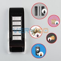 Wholesale New in1 Wireless Electronic Lost Key Finder Locator Find Locater Alarm Keychain order lt no track