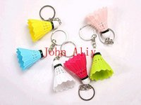 badminton gift items - Wonderful keychain new items badminton keychain keyring for sports a idea gift for people love sports