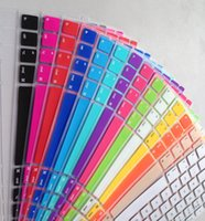 laptop protective film - keyboard case covers set shell Notebook protective film European version English Laptop keys foil for apple pro air Accessories