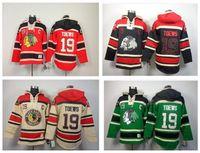 best nhl jerseys - 30 Teams Best Quality NHL Jersey Shirt Black Hawk Team TOEW Ice Hockey With Hood Fleece