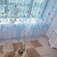 balloon valance - 2 Color Balloon Tulle Voile Door Window Curtain Drape Panel Sheer Scarf Valances