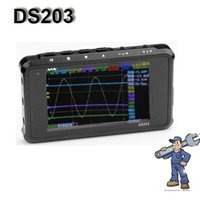 analog digital oscilloscope - DS203 Nano Quad Pocket Sized Digital Oscilloscope Channel Analog Digital MS S Sample