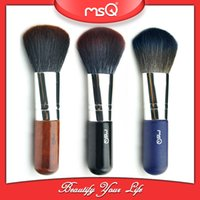 Wholesale Cosmetic Makeup Single Short Mini Brush Cosmetics make Up Brushes Tool MSQ Foundation Blender Blending Blush Powder Kit Tool With PVC Bag