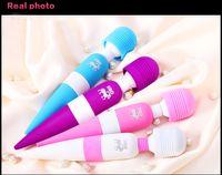 Female G-Spot Vibrators slicone+ABS(The handle portion) LIBO vibration massage stick female fun sex toy AV Appliances female masturbation