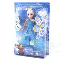 china toys - 2015 China hot selling toys frozen dolls elsa plastic doll frozen doll frozen elsa princess doll elsa frozen singing elsa doll