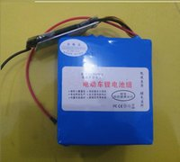 lifepo4 battery - 36V Ah electric bicycle LiFePO4 lithium iron phosphate battery no explorsion cycles with charger PVC package