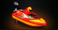 bathtub boats - 2016 new channel mini remote control boat speedboat children electric remote bathtub toys Boat Rowing