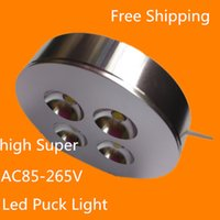 Yes acryl furniture - 4pcs AC85 V X2W W Dimmable Warm Cold White LED Puck light led puck lamp led furniture light