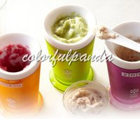 Wholesale Brand New Zoku Shop sand ice cup smoothie cup ice cream machine self restraint slush maker shake maker