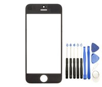For Apple iPhone for iPhone Touch Screen 100 New Front Outer Touch Screen Glass Replacement for iPhone 5 5s 5c with Tools