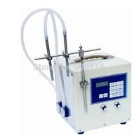 Wholesale Free ship new Double filling heads Microcomputer control liquid filling machine