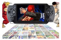 4.3 inch No Music HOT SELL 4GB 4.3 Inch PMP Handheld Game Player MP3 MP4 MP5 Player Video FM Camera Portable Game Console