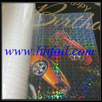 Wholesale USA BOPP holographic film lamination film plain microns size same as picture