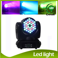 american dj led - 2015 New LED Stage Light in1 RGBW W LED Moving Head Light Beam Wash Light American DJ Light DMX IN OUT Stage Lighting
