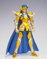 aquarius gifts - Saint Seiya Galactic Nebula model Cloth Myth gold saint Aquarius Camus Action Figure cavaleiros do zodiaco Chritmas Birthday Gift