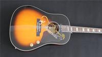 acoustic electric guitar - New Style quality electric acoustic guitar John Lennon Acoustic Electric Guitar Vintage Sunburst