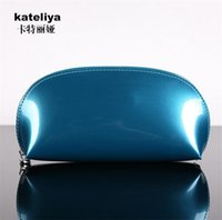 Wholesale The new patent leather hand bag makeup bag professional logo custom gift bag promotion multi colors DHL