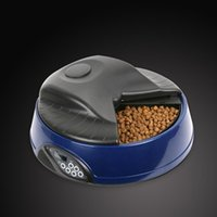 Wholesale Brand New Meal LCD Automatic Pet Feeder Yellow Light Blue Deep Blue Granite Pink Green