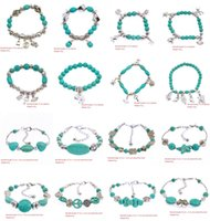 Charm Bracelets beautiful turquoise jewelry - 2015 Latest Jewelry Bracelet Ethnic Style Jewelry Handmade Natural Turquoise Bracelet Very Beautiful Gift High Quality