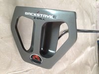 Wholesale golf clubs backstryke ball putters inch come with steel shaft right hand golf putter free headcover
