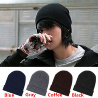 Wholesale Christmas Lady Hot - Hot Sales Mens Ladies Womens Slouch Beanie Knitted Oversize Beanie Skull Hat Caps ax40 Free Shipping