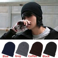 Beanie/Skull Cap golf cap - Hot Sales Mens Ladies Womens Slouch Beanie Knitted Oversize Beanie Skull Hat Caps ax40