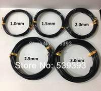 aluminium crafts - craft wire aluminium wire black aluminium wire bonsai wire mix size rolls meters roll MS1124