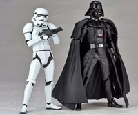 Wholesale Hot Sale High quality PVC action Star Wars Figures toy Black Knight Darth Vader Stormtrooper PVC Action Figures