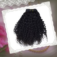 Cheap afro kinky curly hair 5a brazilian virgin hair 3 pcs lot 6--30inch weave hair 100% remy human hair can be bleached dyed no shedding&lice