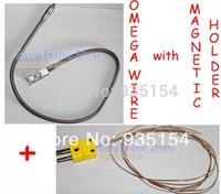 bga repair machine - FreeShipping Original Omega K Type Thermocouple Wire sensor with Magnetic Holder for bga rework machine bga repair