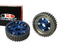 Wholesale Blox Adjustable Cam Gears Timing Gear pulley kit FOR HONDA CIVIC DOHC B16A B16B BLUE TK CGB16BL