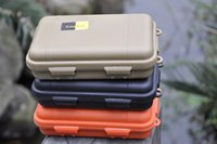 Wholesale iotTactical pen box waterproof sealed shcok Pressure proof boxes Storage survival box special use casesE1